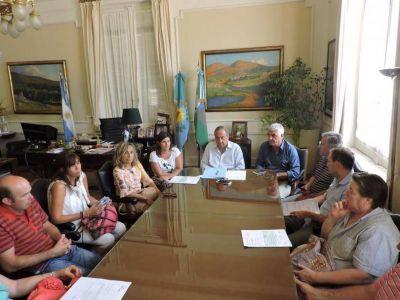 Vela y Gardey recibieron subsidios para obras del presupuesto participativo