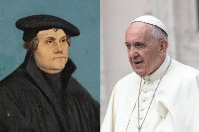 """El Papa Francisco y el escándalo de Lutero """"testigo del Evangelio"""""""
