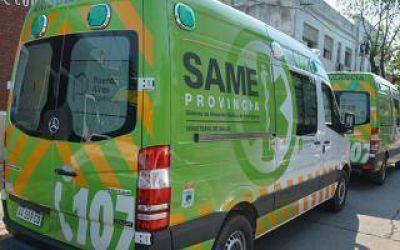 Berisso lanzó el servicio del SAME Provincia