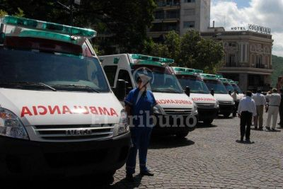Ambulancias y móviles para el sistema de salud