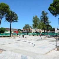 Puesta en valor de la plaza San Martín y avances en el Hospital de Concarán