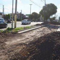 Duarte Quirós: comenzó la obra de ensanche