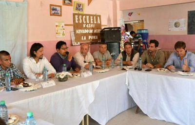 El Gabinete provincial se reúne en San Carlos