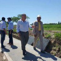 Inauguran y proyectan obras públicas en La Cocha