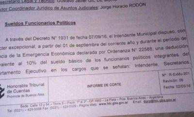 Descuento de sueldos a funcionarios: Arroyo se equivocó y podría ser sancionado