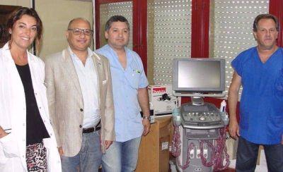 """Nuevo ecógrafo para el hospital: """"En 12 años es la primera vez que se da importancia al diagnóstico"""""""