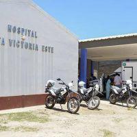Entrega de motocicletas y una ambulancia en el norte provincial