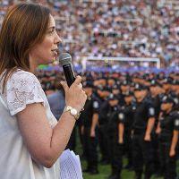 Vidal echó a 58 jefes de la policía de la Provincia por ocultar su patrimonio