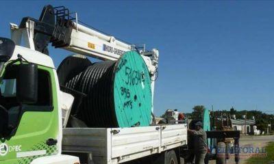 Dpec conectó un Centro de Distribución eléctrica que aliviará a Santa Catalina
