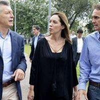 Katopodis recibió a Macri y Vidal en el Parque Escuela José León Suárez