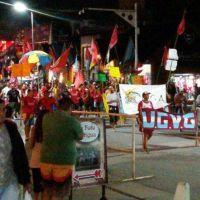 Los guardavidas de la Unión se volvieron a manifestar en el centro
