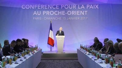 Diplomáticos del mundo se reúnen en París para intentar relanzar el proceso de paz entre Israel y Palestina