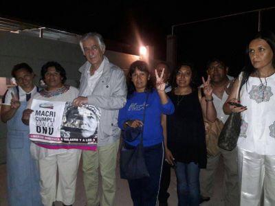 Rodríguez Saá participará de una conferencia para pedir la libertad de Milagro Sala