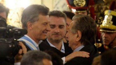 Franco Macri le puso un 5 a la presidencia de su hijo Mauricio