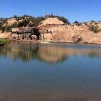 Denuncian a empresario por desviar agua del río Atuel