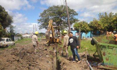 Realizan mejoras en el servicio de agua potable que beneficiará a unas 200 familias del Patono