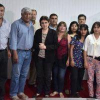 CALSINA RECIBIÓ A LA NUEVA CONDUCCIÓN DEL CEDEMS