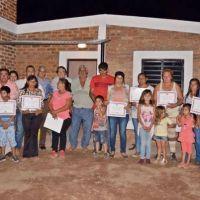 Entregaron viviendas sociales en Lilo Viejo y Tintina