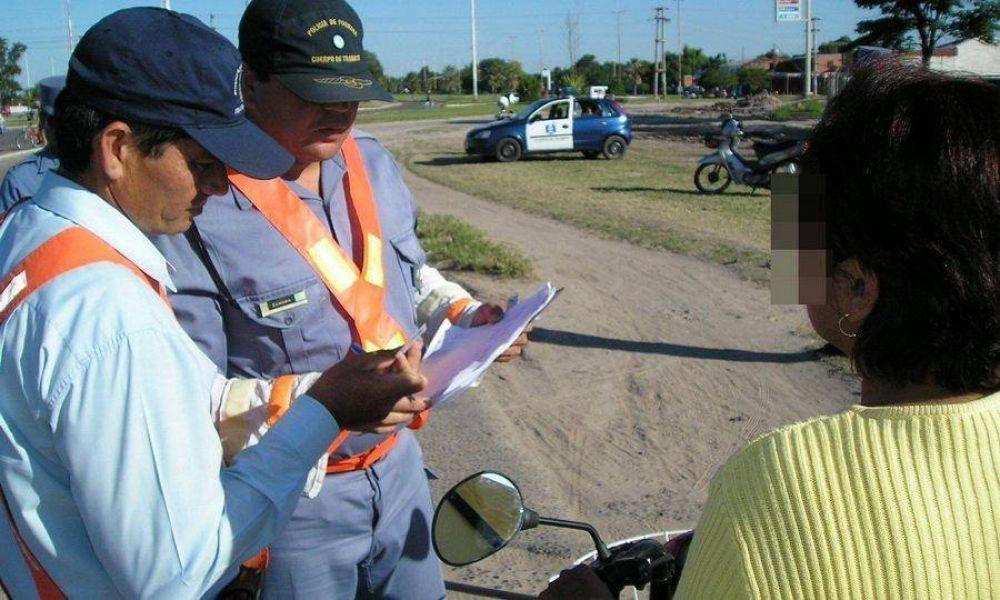 Con el aumento de los combustibles, subieron los montos de las multas