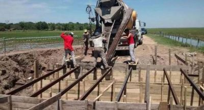 Se iniciaron obras para recuperar tierras agrícolas