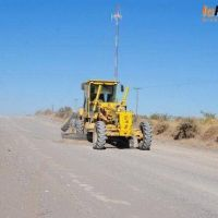 Continúa el repaso de caminos en Bahía San Blas