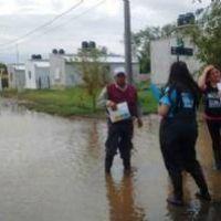 La Provincia ya asistió a cientos familias tras el paso de tormentas