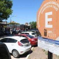 El estacionamiento medido volvió con aumento