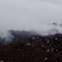 Volvió el humo al Basural Municipal