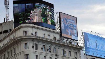 Disputa por la publicidad exterior en la Ciudad
