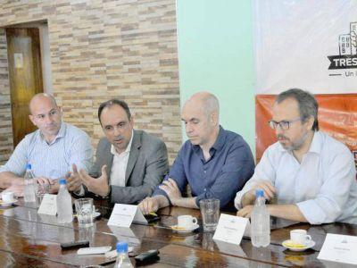 Molina junto a intendentes