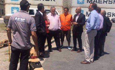 Anunciaron medidas para profundizar el sistema de control de cargas en el puerto de Mar del Plata