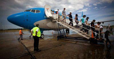 Los vuelos a Mar del Plata superan el 90% de ocupación