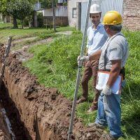 Comenzaron las obras de cloacas en el barrio Martín de Güemes