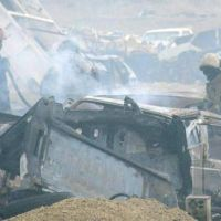 Se incineraron cinco autos judicializados en el basural