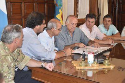 """""""Ultimaremos detalles del plan hídrico de San Nicolás"""""""