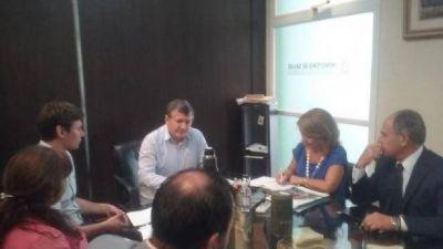 El ministro de Salud recibió hoy a su par de La Rioja