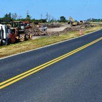 Avanzan en el proyecto y en la obra de la Autovía sobre la ruta 11