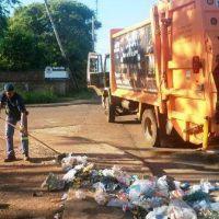 El municipio de Posadas eliminó residuos de 27 minibasurales