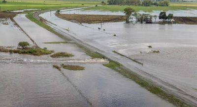 La Provincia desanima un conflicto con Santa Fe por las inundaciones