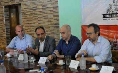 Martiniano Molina respaldó la política de Seguridad de Vidal