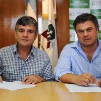 Zabaleta firmó un acuerdo marco con Desarrollo Social bonaerense