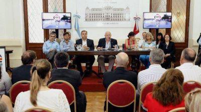 La provincia presentó un programa destinado al abordaje de las adicciones