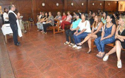 Cáritas La Plata pidió apostar por una contracultura de la vida
