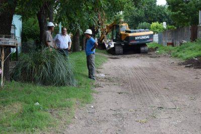 Continúan a buen ritmo las obras en el Barrio 96 viviendas