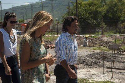 Las obras en el barrio Gauchito Gil finalizarían en abril de 2018