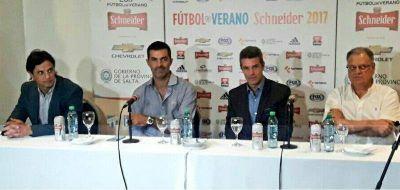 Con la presencia de Urtubey, se presentó el torneo de verano en Salta