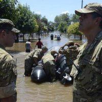 Un muerto y el 75% de la población evacuada en un pueblo bonaerense