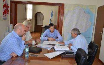 El intendente de Villegas se reunió con autoridades provinciales por la crisis hídrica