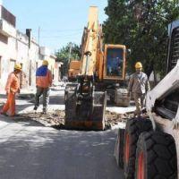La empresa COARCO repara las calles hundidas en Valle Viejo