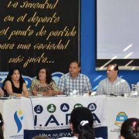 La provincia y el SEDRONAR acentúan acciones conjuntas contra las adicciones